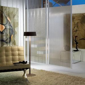tessuto per pareti mobili et controsoffitti / a tinta unita / in metallo / contract