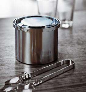 secchiello per ghiaccio in acciaio inox / per uso domestico