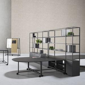 libreria moderna / per ufficio / in melamminico