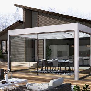 veranda autoportante / in vetro / in alluminio