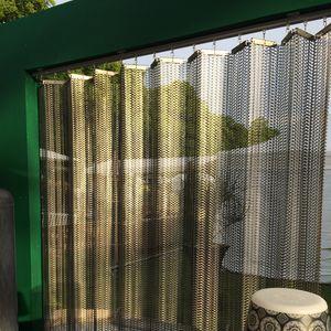 maglia metallica per facciate / per interni / per frangisole / per soffitto