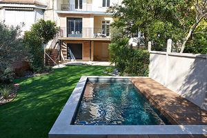 piscina seminterrata