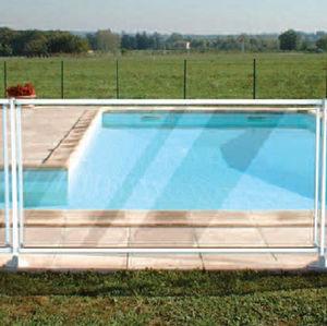 barriera di protezione / fissa / in vetro / per piscina