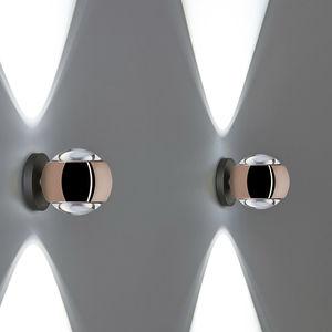 applique moderna / in alluminio / in vetro / in plastica