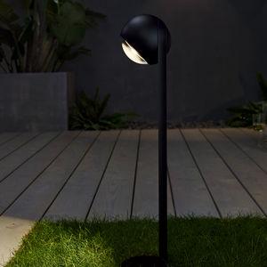 lampioncino da giardino / moderno / in alluminio / in vetro