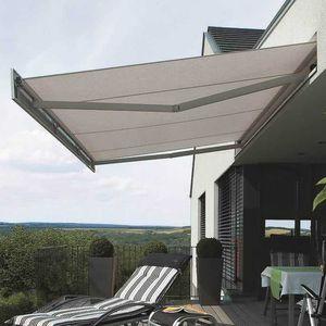 tenda da sole a proiezione / manuale / a motore / per terrazza