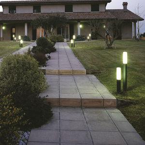 lampioncino da giardino / moderno / in alluminio / in acciaio inossidabile