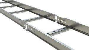 scala portacavi in alluminio