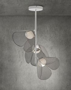 lampada a sospensione / moderna / in alluminio / in polietilene