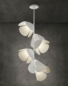 lampada a sospensione / moderna / in alluminio / in ferro