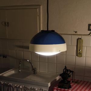 lampada a sospensione / moderna / in policarbonato / in alluminio