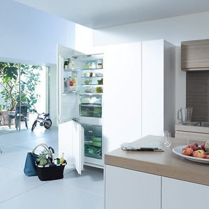 frigorifero combinato con congelatore basso / per uso residenziale / a 2 porte / bianco