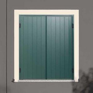 persiane battenti / in pino / in alluminio laccato / per finestre