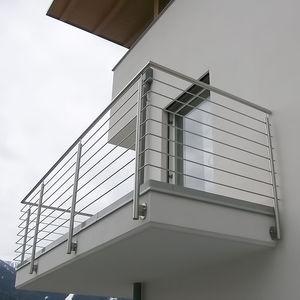 balcone a sbarre