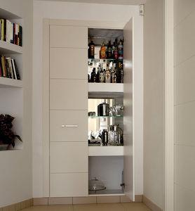 porta per armadio in legno massiccio