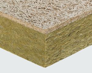 isolante termico / termo-acustico / in lana di roccia / in lana minerale