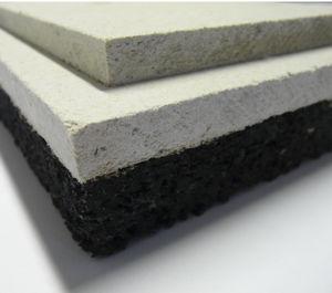 isolante acustico / in gomma / per pavimento / in pannelli