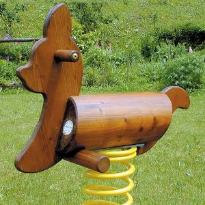 gioco a molla in legno massiccio