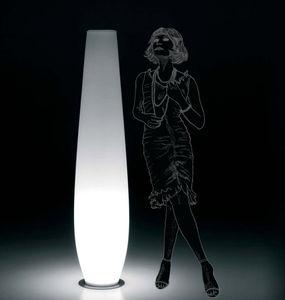 lampada da pavimento / moderna / in polietilene / da interno