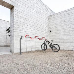rastrelliera per biciclette in alluminio