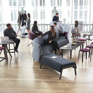 divanetto imbottito modulare