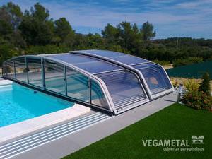 copertura per piscina bassa