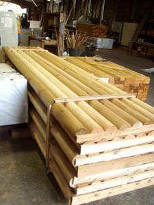 trave in legno / a sezione rettangolare