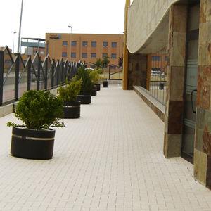 pavimentazione in clinker / in ceramica / per pedoni / antiscivolo