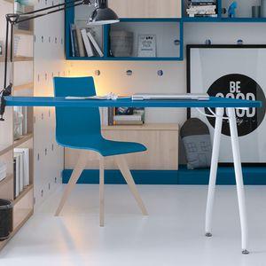 scrivania in legno laccato / moderna / per bambini