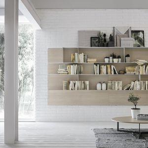 libreria a muro