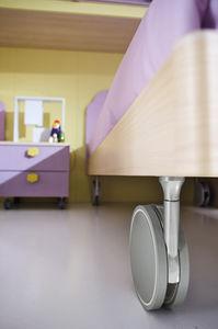 comodino moderno / in legno / rettangolare / per bambini