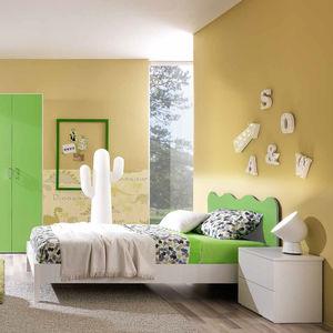 cameretta verde per bambino