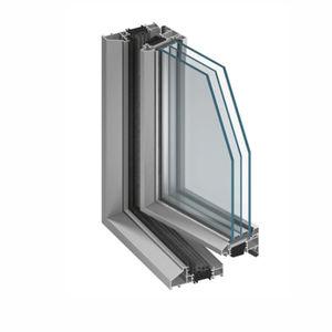 profilato per finestra in alluminio