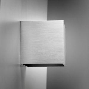 applique moderna / in alluminio / LED / rettangolare