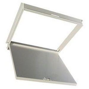 sportello d'ispezione per soffitto sospeso / quadrato / in acciaio