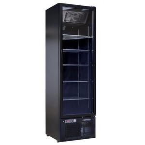 congelatore ad armadio / professionale / in acciaio inox / nero
