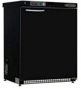 frigorifero ad armadio / portatile / nero / in acciaio inox