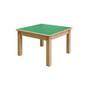 tavolo moderno / in faggio / impiallacciato in legno / con supporto in legno