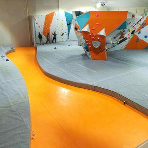 materassino di caduta per parete d'arrampicata per interni