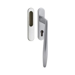 maniglia a tirante per porta scorrevole / in ottone lucidato / in ottone / in ottone cromato