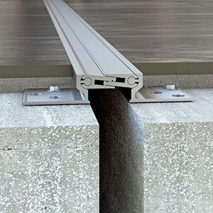 giunto di dilatazione in alluminio / per solaio