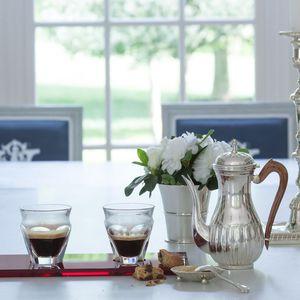 tazzina di caffè in cristallo