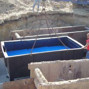 impianto di depurazione delle acque pluviali