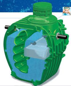 micro impianto di depurazione per acqua / in polietilene