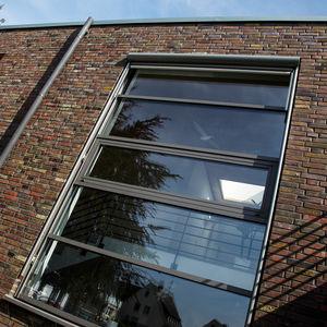profilato per finestra in alluminio / a isolamento termico / acustico / antirapina