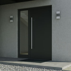 profilato per porte in alluminio