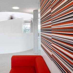 pannello acustico per muro / per interni / in tessuto / colorato