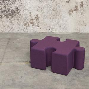 pouf moderno / in tessuto / quadrato / per bambini (unisex)