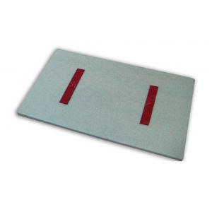 isolante termo-acustico / in poliestere / in gomma / per solaio