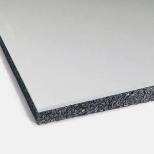 isolante acustico / in gomma / SBR / per muro